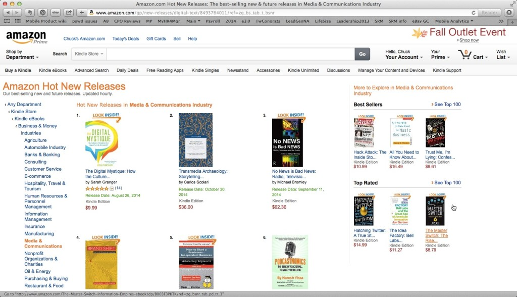 Amazon and the Wild World of Bestseller Lists